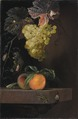 Still Life with Fruit, Lizard and Insects (Ottmar Elliger) - Nationalmuseum - 17956.tif