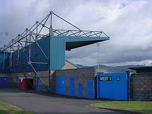 Forthbank Stadium - West Stand at the Forthbank Stadium (2006)