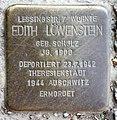 Stolperstein Altonaer Str 15 (Hansa) Edith Löwenstein.jpg