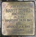 Stolperstein Bayreuther Str 34 (Schön) Margit Cornel.jpg