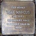 Stolperstein Bocholt Ludgerusstraße 4 Max Markus.jpg