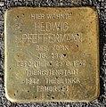 Stolperstein Bundesratufer 9 (Moabi) Hedwig Pfeffermann.jpg