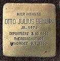Stolperstein Emser Str 19 (Wilmd) Otto Julius Bendix.jpg