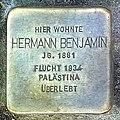 Stolperstein Hermann Benjamin in Uelzen.jpg