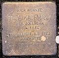 Stolperstein Joachim-Friedrich-Str 54 (Halsee) Frida Kaufmann.jpg
