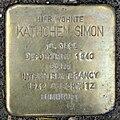 Stolperstein Käthchen Simon (Gönser Straße 11 Pohl-Göns).jpg
