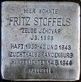 Stolperstein Köln, Fritz Stoffels (Belvederestraße 147).jpg