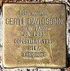 Stolperstein Königstr 29 (Mard) Gerti Davidsohn.jpg