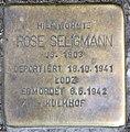 Stolperstein Kaiserdamm 19 (Charl) Rose Seligmann.jpg