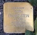 Stolperstein Kolonnenstr 12 (Schön) Edith Frankenstein.jpg