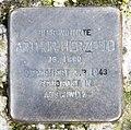 Stolperstein Schwerinstr 19 (Schön) Arthur Herzfeld.jpg