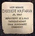 Stolperstein Thomasiusstr 14 (Moabi) Dagobert Kaufmann.jpg