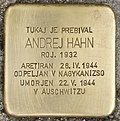 Stolperstein für Andrej Hahn (Murska Sobota).jpg