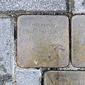 Stolperstein für Friedrich Leopold Berlowitz, Lukasstrasse 3, Dresden.JPG
