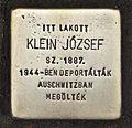 Stolperstein für Jozsef Klein.JPG