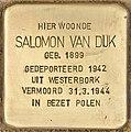 Stolperstein für Salomon van Dijk (Den Haag).jpg