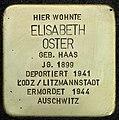Stolpersteine Köln, Elisabeth Oster (Blumenthalstraße 15).jpg