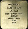 Stolpersteine Köln, Max Horn (Nußbaumerstraße 72).jpg
