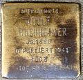 Stumbling block for Adolf Buchheimer (Alteburger Straße 11)