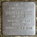 Stolpersteine Krefeld, Wilhelm Rose (Glindholzstraße 107).jpg