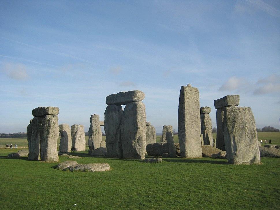 Stonehenge on 27.01.08
