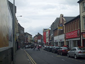 Strabane - Main Street, Strabane