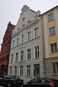 Stralsund, Fährstraße 22 (2012-03-11), by Klugschnacker in Wikipedia.jpg