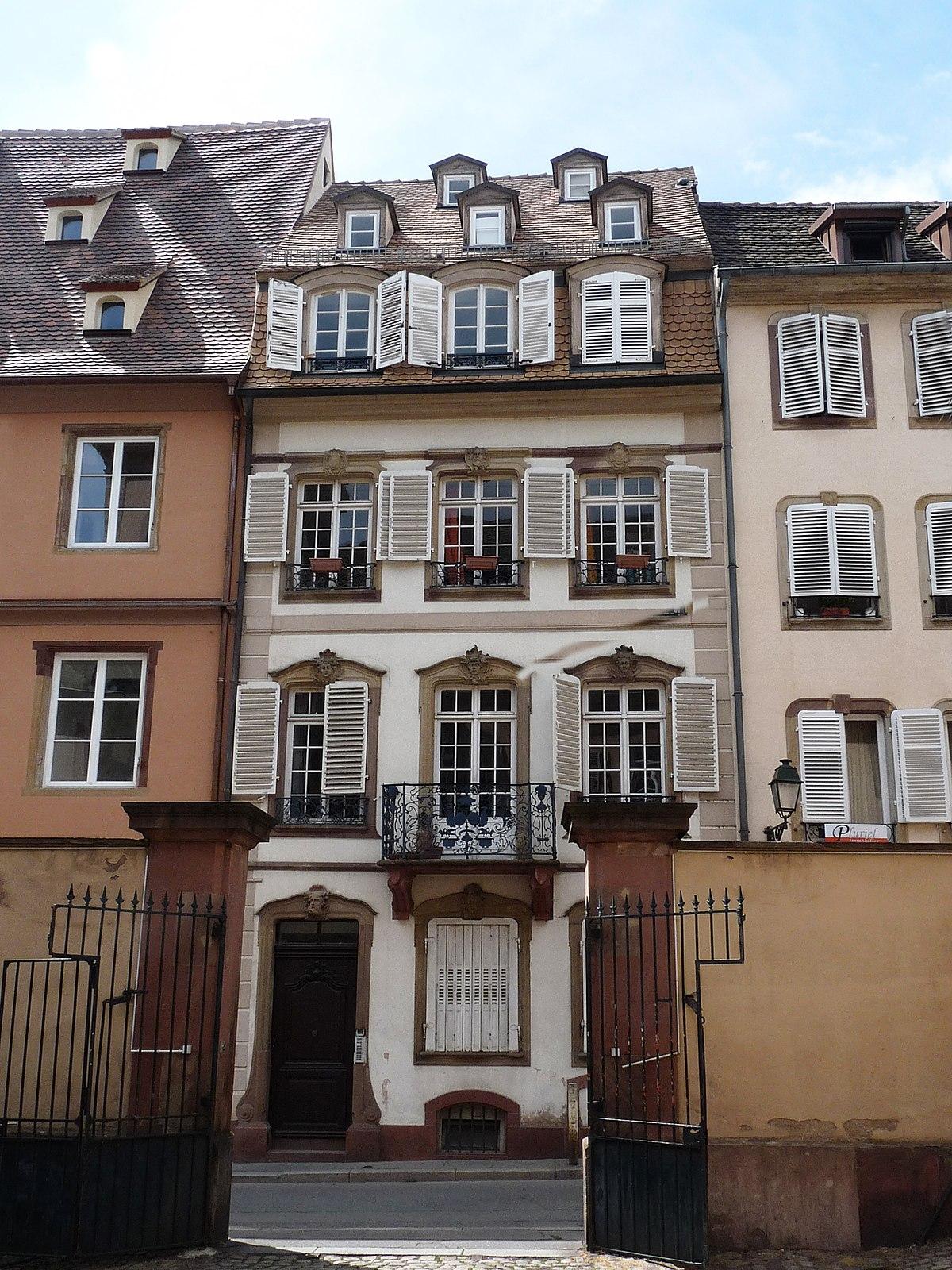 Q14627742 wikidata for Rue du miroir strasbourg