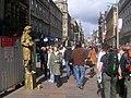 Street Artist, Buchanan Street, Glasgow - geograph.org.uk - 154891.jpg