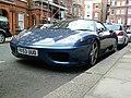 Streetcarl Ferrari 360 modena spyder blue (6435547927).jpg