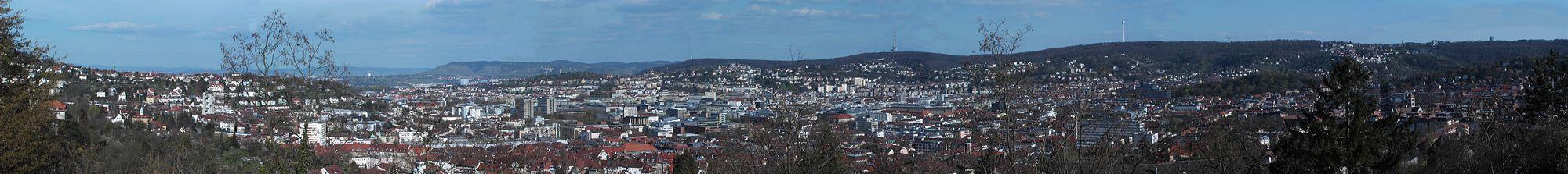 Stuttgart Panorama 2007