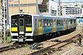 Suigun KiHaE130 Mito 20070623.JPG