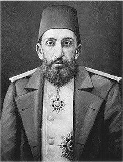Abdul Hamid II 34th sultan of the Ottoman Empire