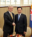 Summit talk with Australian Prime Minister Kevin Rudd.jpg