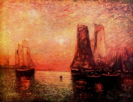 Sunset Marine by Hudson Mindell Kitchell