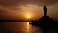 Sunset at Hussain Sagar.jpg