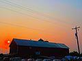Sunset over Bennett Barn - panoramio.jpg