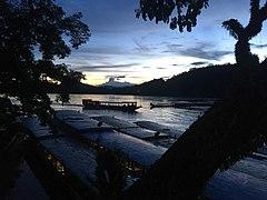 Sunset over the Mekong in Luang Prabang 4.jpg