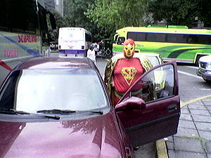 Real-life superhero - Super Barrio of Mexico City