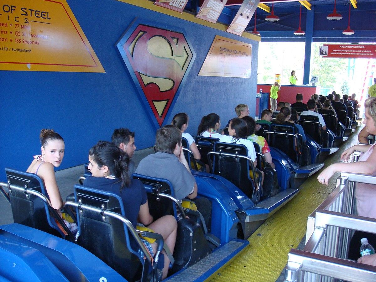 Superman the Ride - Wikipedia