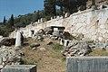 Supporting polygonal masonry of Temple of Apollo, Delphi, Dlfi413.jpg