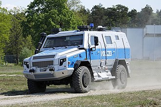 RMMV Survivor R - Image: Survivor R in Police configuration