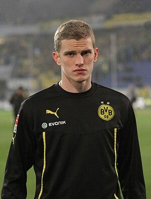 Sven Bender - Sven Bender with Borussia Dortmund in 2014