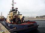 Svitzer Nerthus, IMO 9533048 in Fredericia harbor, pic2.JPG