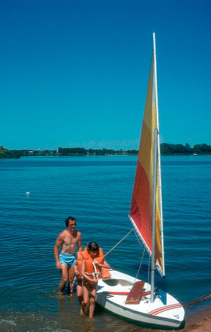 Turner County, South Dakota - Swan Lake northwest of Viborg, South Dakota.
