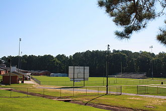 Sweet Water High School - View of Nolan Atkins Stadium at the school.