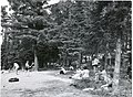 Swimming beach, South Kawishiwi Campground, 7 15 1960 (5188031936).jpg