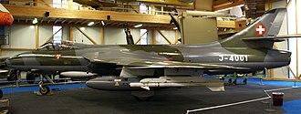 Flieger-Flab-Museum - Hawker Hunter MK.58