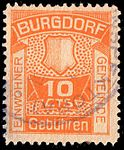 Switzerland Burgdorf 1917 revenue 10c - 2B.jpg