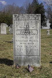 Sybil Ludington grave